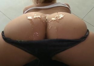 MILF Shyla Stylez sure is the anal queen as hunky stud John Strong finds out. Every mans wet dream. This blonde has big white marangos and a big ass to go with it which she loves having a dildo servicing her before.