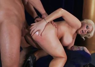 With a name like Candy, you know that her assets are tasty! Watch as Candy Manson show off her moves, then witness her ass get used in this anal adventure that will leave you screaming, I Want Candy!