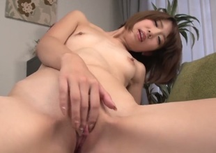 Milf Seira Matsuoka is dangerously horny in this cum flying action