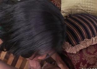 Cassandra Cruz gets slammed in her slit