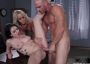 Pursue Ryder and Simone Sonay give it to Johnny Sins