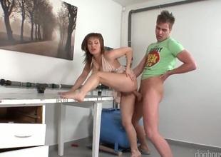 Marco Bon Pheonix delighting in fantastic sexy milf Valentine Rush