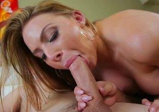 Operational ass of hot busty stepmother