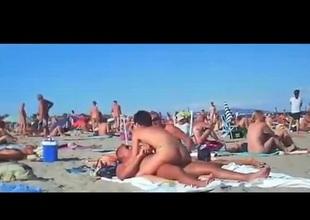 Public Beach Orgy