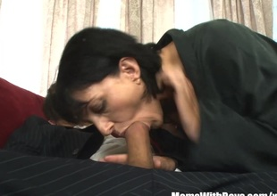 MILF Reporter Roxanne Hall Fucking The Horny Governor
