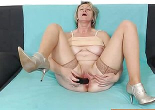 Czech wife toys her hot pussy