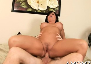Agile mom can not live without from behind fuck