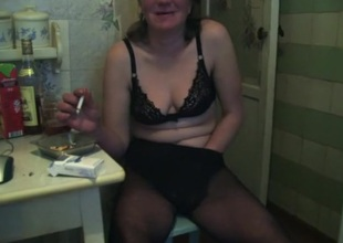 Horny Homemade episode with Masturbation, Russian scenes