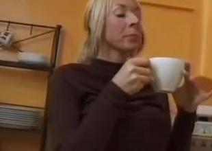British Blonde Milf Fucked