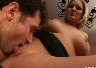 The sexy and lascivious looking milf Zoey Holiday adores hot fuck act so much that she doesnt hesitate a minute to strip and plunge into raunchy oral fuck with her daughters bf
