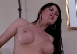 Eva Karera is a stunningly sexy milf with lengthy darksome hair, slimline figure, perfect round tits and taut pussy. She acquires her moist hole fucked by horny guy in hardcore action. See busty mamma get banged