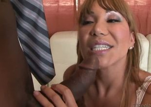 Ava Devine and her spouse came to visit Julius Ceazher and since she is an ordinary cock craving slut it quickly turned in to beautiful wild interracial threesome.