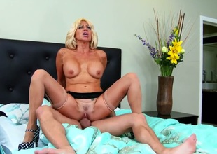 Tara holiday fucks her sons friend