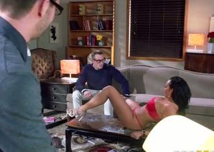Rough sex with big boobed exotic MILF Rio Lee