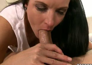 Marvelous milf India Summer learns that its young Seths birthday, and she gives him something to remember - an epic blowjob that makes him cum harder than ever in his life!