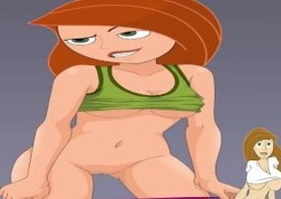 Cartoon Porn Kim Possible Porn sister masturbate