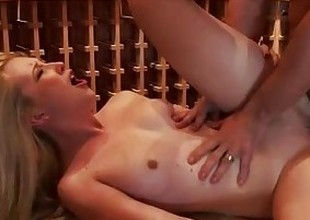 Blonde wife Samantha Rone fuck and jump dick