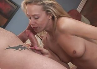Blonde Mommy With Perfect Ass Anally Pounded Deep