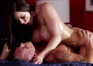 Kendra Lust drilled deep in her wet pussy