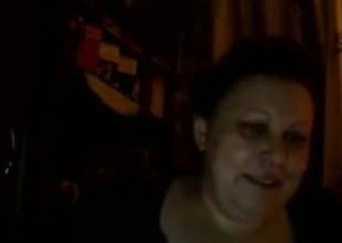 Hot Russian mature mom Maria play on skype