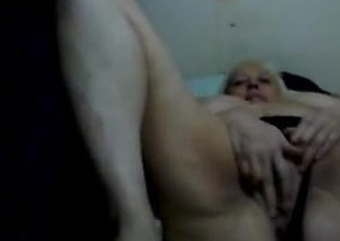 Hot 52 yo Russian mature Irina play on skype