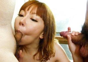 Hottest Japanese whore Minami Kitagawa in Fabulous JAV uncensored Threesomes scene