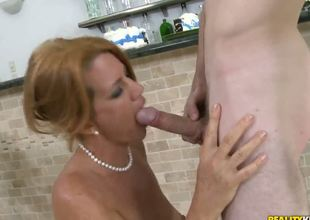 This MILF is someone that you dont get to ask twice when you desire to give her some proper fucking. Just show her a big cock and shes all over it the next second!