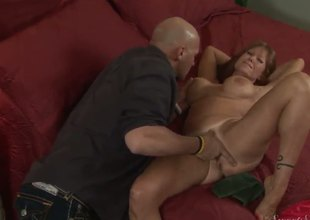 My mother looks very nice and seducing. All her friends always desire to screw her and today one of her best friend has an opportunity to drill her sweet pussy and eat it.