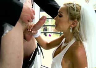This man Jordan Ash is lucky to have such a naughty blonde wife as pretty Devon is! She always feels the sex hunger and ready to satisfy even the dirtiest wish with hot naked body