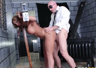 One time again, johnny sins is pounding wet dripping cookies for the good of all mankind. His massive fucking schlong is taking care of Richelle so well, she cums multiple times