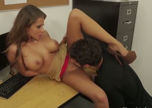 Giovanni Francesco and Madison Ivy are getting some hardcore pleasure and they look more than nice and hot in the process since the passion connecting them is obvious. They are amazing.
