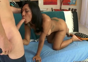 Big ass hawt MILF Sophia Diaz sucks n fucks