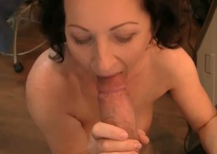 Rocco Siffredi doesnt mind the age hole between this old hag and the hotties he usually bangs, because the lusty mamma knows a trick or two. Youll love it if youre into big bushes!