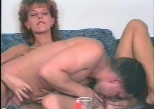 Getting his jock wet in this horny MILF - Julia Reaves