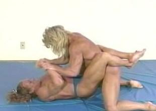 FBB wrestling scene 1