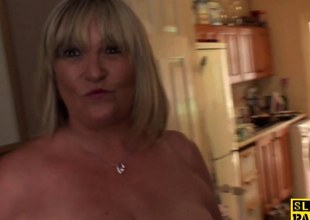 busty mature britt sub  fucked roughly episode
