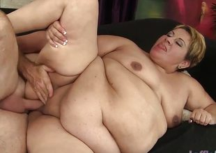 Horny mature BBW Bonita receives fucked hard