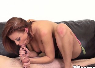 Britney Amber receives mouthful of cum on webcam