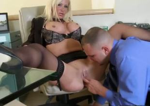 Jmac has great experience in fucking with skinny chicks, Latinas and college sluts! But this day he got really hawt and delicious thing! Dawson Daley is sweet milf with huge scones and defiant soul!