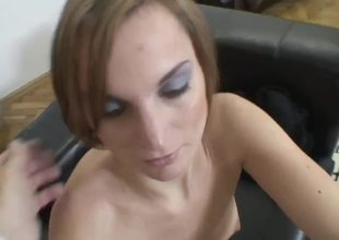 Naughty Barbara takes Roccos dick in her hospitable, hungry for cum mouth in the amateur video!