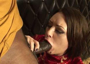 A silly lil white wife sucks a big ol black dick right in front of her cuck of a hubby. And you know what this chab does Jerks it whilst this chab watches. And you know what Id do the same.