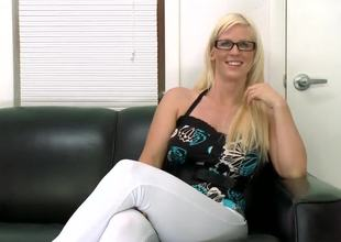 Kaylee Brookshire is a hot milf. She was already in the business as a Cam girl. She decided to take the next step and do her 1st adult movie. I am sure that she will like it! Enjoy!
