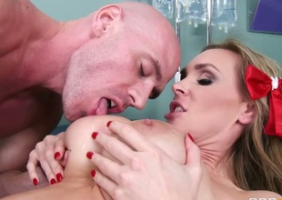 Tanya Tate with big knockers is ready to suck Johnny Sinss hard tool day and night