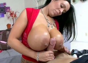Huge titted Sienna West acquires her wet ass drilled