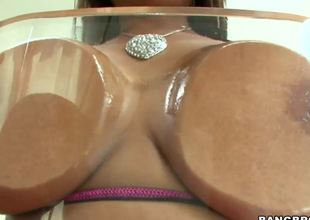 Priya Rai will make your eyes pop out when you see her huge tits and a big ass to go with them! This milf is just too good to be true, sucking and fucking like its doomsday!