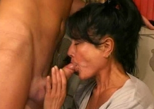 Mom desires anal after bawdy cleft fuck