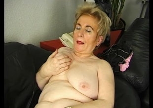 Blond granny getting off - Julia Reaves