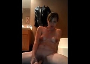 Milf with big nipples dildo orgasm