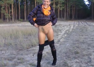 Flashing Fucking In The Woods