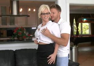 Our milf adores fucking around with dudes